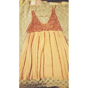Free people sequence spaghetti strap dress